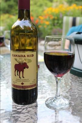 Some local wine, quite nice