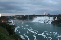 The USA side of Niagra Falls