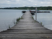 A small pier at our campsite in Sault Ste Marie