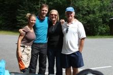 Meeting Donna & Floyd again coincidentally at Sandy River