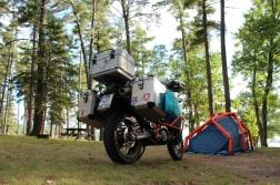 Campsite in Sault Ste Marie
