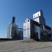 Grain elevator in Indian Head / Saskatchewan