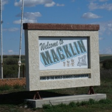 Arriving in Macklin