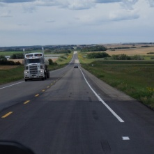 Road in Saskatchewan