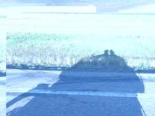 Motorbike shadow