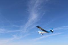 Flying over Saskatchewan