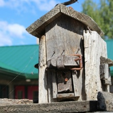 Birdhouse in Macklin