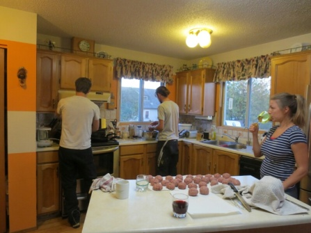 Neil and Brads turn to cook