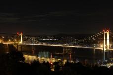 Carquinez Bridge San Francisco. The view from Jeff's place