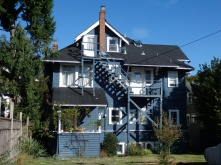 A typical house in Vancouver
