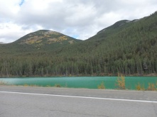The Rockies are full of these turquoise coloured lakes