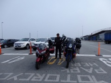Waiting for the ferry to Vancouver island