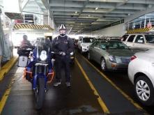 On the Bainbridge ferry Seattle