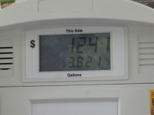 Petrol is cheap in the USA works out about 68 cent a litre in Euro