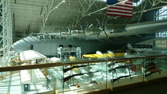 The Spruce Goose (actually made from birch)