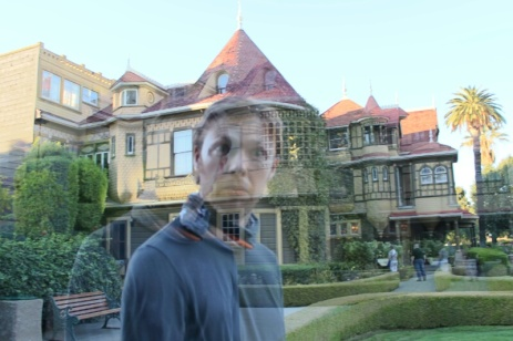 Ghost at the Winchester Mystery House