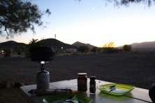 Camping in Tecopa