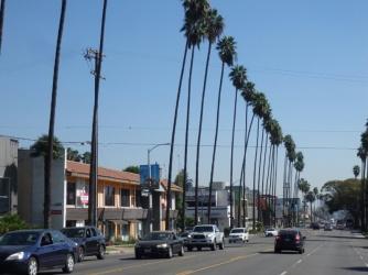 Somewhere near Hollywood LA