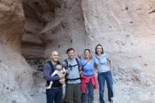 Tent rock New Mexico