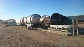 An ICBM, Inter Continental Ballistic Missile