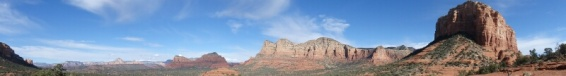 Panorama at Bell Rock Sedona Arizona
