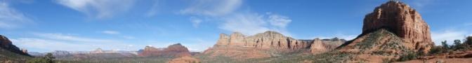 Panorama at Bell Rock Sedona Arizona