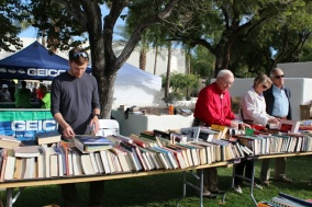 A book sale in Scottsdale Arizona