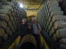 Jose Cuervo Tequila barrels