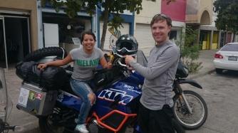 We met a Mexican girl wearing an Ireland t shirt in Mazatlan