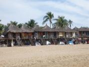 Zipolite beach huts