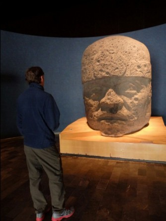 An Olmec Head