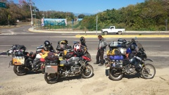 on the road to Salina Cruz