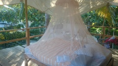 Our bed in Zipolite