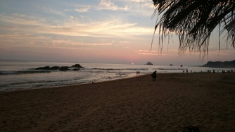 Sunset at Zipolite