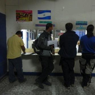 At Nicaraguan customs