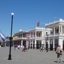 Granada, colonial houses
