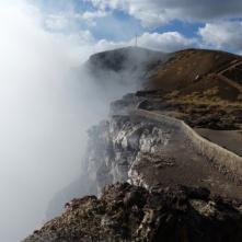 Masaya, active vulcano crater