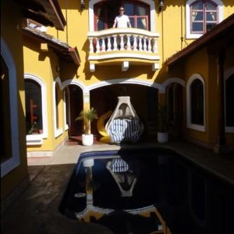 Inside Casa del Aqua, Granada