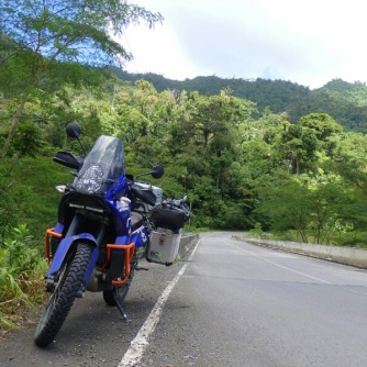 The ride from Almirante to the Pacific side of Panama