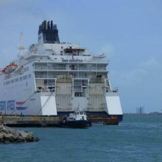 The ferry SNAV Adriatico