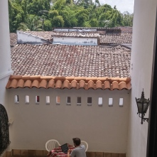 Writing a blog post in Popayan
