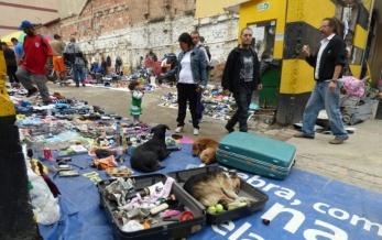 Flea market, Bogota