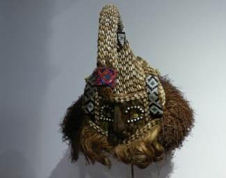 Mask, Colombian National Museum in Bogota