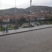 Cusco's centre for tourists