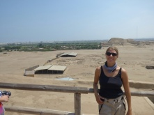 Visiting the pyramids of the sun and moon
