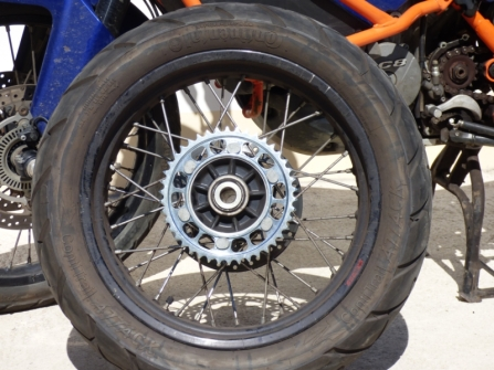 The new sprocket