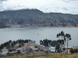The road to La Paz