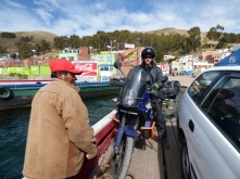 Crossing Titicaca