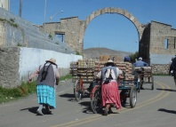 The Bolivian border